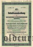 Rheinischen Hypothekenbank, Mannheim, 1000 reichsmark 1941