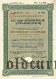 Deutsche Hypothekenbank, Berlin, 8%, 500 goldmark 1927