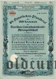 Deutschen Centralbodenkredit, Berlin, 4%, 1000 reichsmark 1934