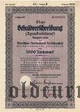 Deutschen Rentenbank-kreditanstalt, Berlin, 1000 reichsmark 1940