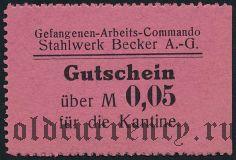 Германия, Willich, 5 пфеннингов