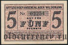 Германия, Wildemann, 5 пфеннингов