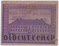 Клеве (Cleve), 10 пфеннингов 1921 года