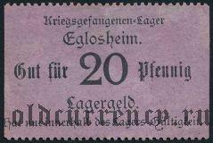 Германия, Eglosheim, 20 пфеннингов
