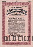 Schatzanweisung des Deutschen Reichs, 1000 рейхсмарок 1937