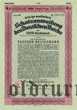 Schatzanweisung des Deutschen Reichs, 1000 рейхсмарок 1936