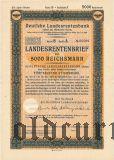 Deutschen Landesrentenbank, Berlin, 5000 reichsmark