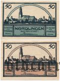 Нёрдлинген (Nördlingen), 2 нотгельда 1920 года