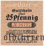 Бюр (Buer), 25 пфеннингов