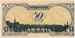 Лаупхайм (Laupheim), 50 пфеннингов 1919 года