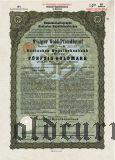 Deutschen Hypothekenbank, Meiningen, 8% iger Gold Pfandbrief, 50 goldmark 1929