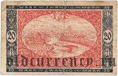 Гаггенау/Гернсбах/Форбак (Gaggenau/Gernsbach/Forbach), 20 марок 1922 года