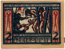 Мюнстер (Münster), 2 марки 1921 года