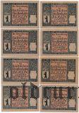 Берлин (Berlin), 8 нотгельдов 1922 года