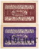 Нахтерштедт (Nachterstedt), 2 нотгельда 1921 года