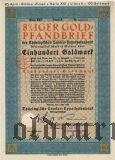 Thüringischen Landes-hypothekenbank, Weimar, 100 goldmark 1930