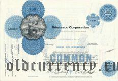 США, Westvaco Corporation, сертификат на 100 акций 1970 года