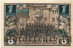 Фюрстенберг (Fürstenberg), 1 марка 1921 года