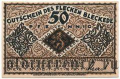 Блеккеде (Bleckede), 50 пфеннингов