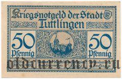 Тутлинген (Tuttlingen), 50 пфеннингов 1920 года