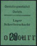 Германия, Czernitz, (Schreiberschacht), 20 пфеннингов