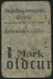 Германия, Czernitz, (Erbreichschacht), 1 марка