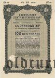 Preussische Zentralstadtschaft, Берлин, 100 reichsmark 1941