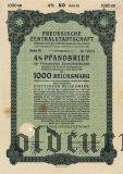 Preussische Zentralstadtschaft, Берлин, 1000 reichsmark 1940