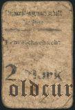 Германия, Czernitz, (Erbreichschacht), 2 марки