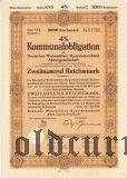 Deutschen Wohnstatten-Hypothekenbank, Berlin, 2000 reichsmark 1943