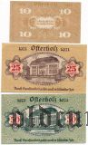 Остерхольц (Osterholz), 3 нотгельда 1921 года