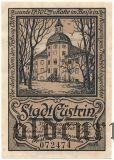 Кюстрин/Костшин (Cüstrin), 50 пфеннингов 1921 года