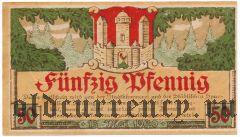 Майнинген (Meiningen), 50 пфеннингов 1920 года