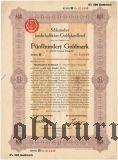 Schlesischer Landschaftlicher Goldpfandbrief, 500 goldmark 1925