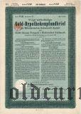 Mitteldeutschen Bodenkredit - Anstalt, 100 goldmark 1929