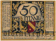 Кауфбойрен (Kaufbeuren), 50 пфеннингов 1918 года