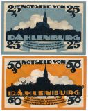 Даленбург (Dahlenburg), 2 нотгельда 1920 года