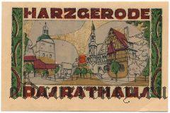 Харцгероде (Harzgerode), 50 пфеннингов 1921 года