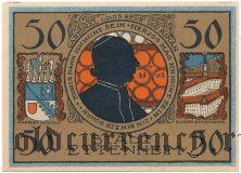 Эттенхайм (Ettenheim), 50 пфеннингов 1922 года