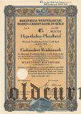 Rheinisch-Westfalische Boden-Credit-Bank in Koln, 4%, 100 рейхсмарок 1940