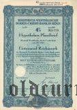 Rheinisch-Westfalische Boden-Credit-Bank in Koln, 4%, 1000 рейхсмарок 1940