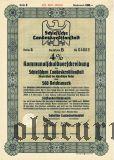 Schlesische Landeskreditanstalt, Breslau, 500 reichsmark 1941