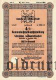 Schlesische Landeskreditanstalt, Breslau, 100 reichsmark 1940