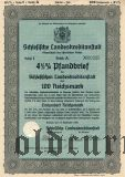 Schlesische Landeskreditanstalt, Breslau, 100 reichsmark 1936