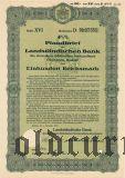 Landstandischen Bank, Bautzen, 100 reichsmark 1937