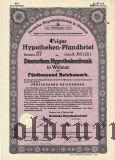 Deutsche Hypothekenbank in Weimar, 5000 reichsmark 1942