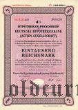 Deutsche Hypothekenbank, Berlin, 1000 reichsmark 1940/41