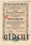 Rheinisch-Westfalische Boden-Credit-Bank in Koln, 1000 goldmark 1926