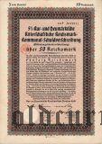 Neumarkische Ritterschaftliche, 50 reichsmark 1930