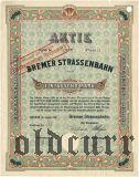 Bremer Strassenbahn, 1000 mark 1922